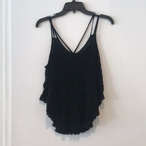 Black Going Out Tank